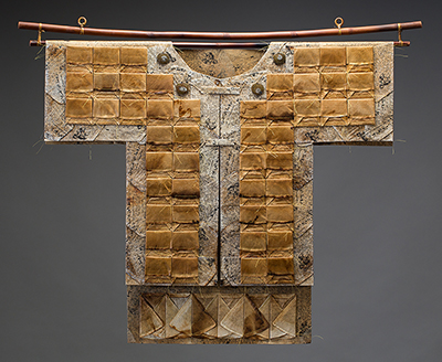 Kimono made from coffee filters